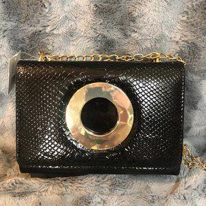 Small Handbag Purse Bag with Chain Shoulder Strap